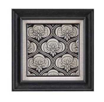 Bassett Mirror Belgian Modern Ornamental Tile Motif I Wall Art