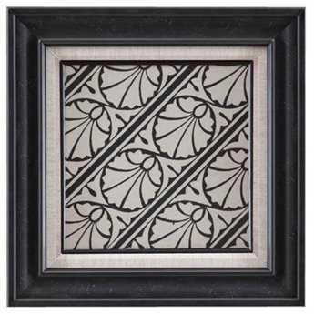 Bassett Mirror Belgian Modern Ornamental Tile Motif VI Wall Art