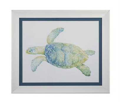 Bassett Mirror Other Tranquil Sea Turtle II Wall Art
