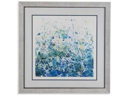 Bassett Mirror Thoroughly Modern Speckled Sea I Painting