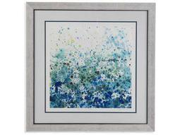 Bassett Mirror Thoroughly Modern Speckled Sea II Painting