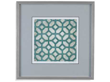 Bassett Mirror Thoroughly Modern Spectrum Symmetry IX Painting