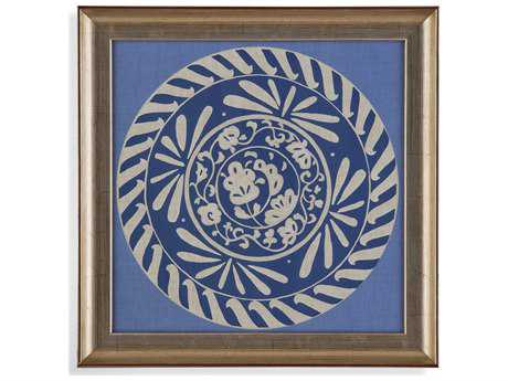 Bassett Mirror Hollywood Glam Indigo Earthen Ware I Painting
