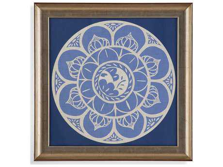 Bassett Mirror Hollywood Glam Indigo Earthen Ware II Painting