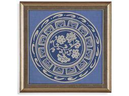 Bassett Mirror Hollywood Glam Indigo Earthen Ware III Painting