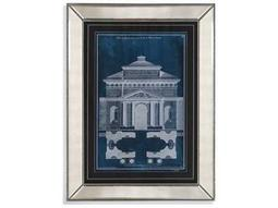 Bassett Mirror Hollywood Glam Palace Facade Blueprint II Painting
