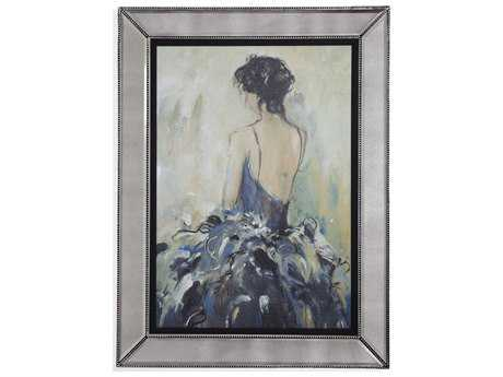 Bassett Mirror Hollywood Glam Ford Reflections Painting