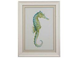 Bassett Mirror Pan Pacific Watercolor Seahorse I Painting