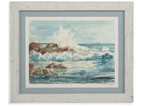 Bassett Mirror Pan Pacific Coastal Watercolor I Painting