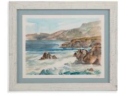Bassett Mirror Pan Pacific Coastal Watercolor II Painting