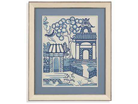 Bassett Mirror Hollywood Glam Willow Landscape II Painting