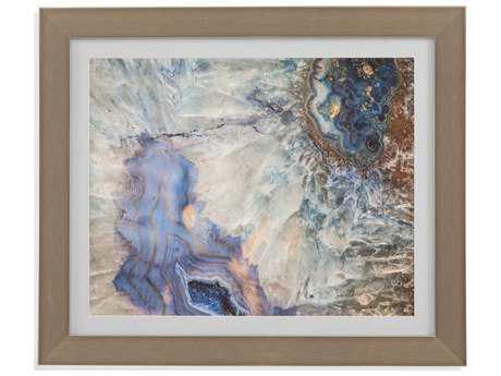 Bassett Mirror Thoroughly Modern Translucent Gem Painting