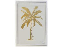 Painting Bassett Mirror Pan Pacific ''Golden Palm'' Painting