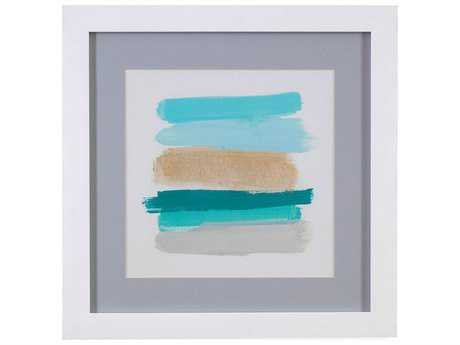 Painting Bassett Mirror Thoroughly Modern ''Palette Stack I'' Painting