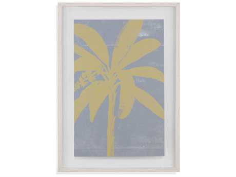 Painting Bassett Mirror Pan Pacific ''Chromatic Palms III'' Painting