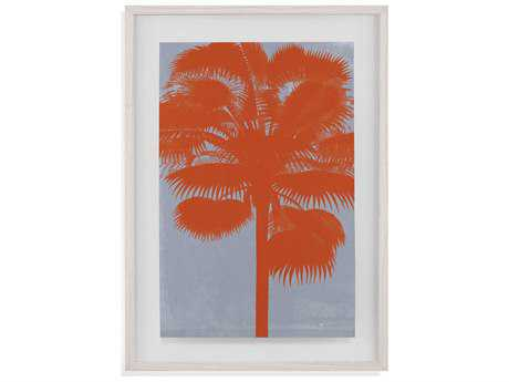 Painting Bassett Mirror Pan Pacific ''Chromatic Palms IV'' Painting