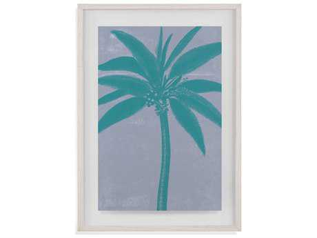 Painting Bassett Mirror Pan Pacific ''Chromatic Palms VII'' Painting