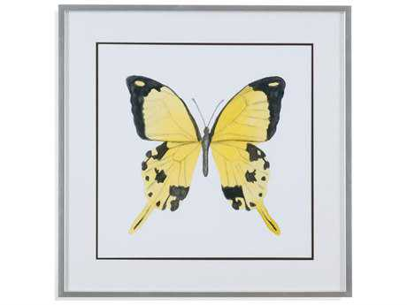 Painting Bassett Mirror Thoroughly Modern ''Watercolor Butterflies II'' Painting