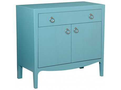Bassett Mirror Kristin Blue Hospitality Cabinet