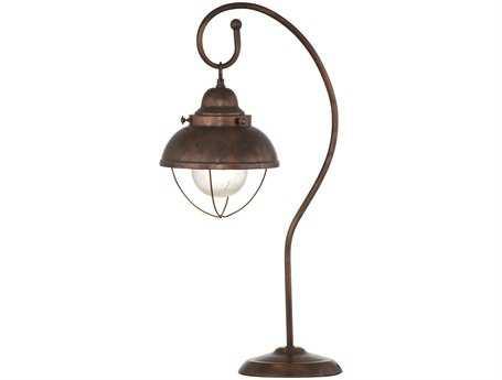 Bassett Mirror Alleghany Copper Finish Table Lamp