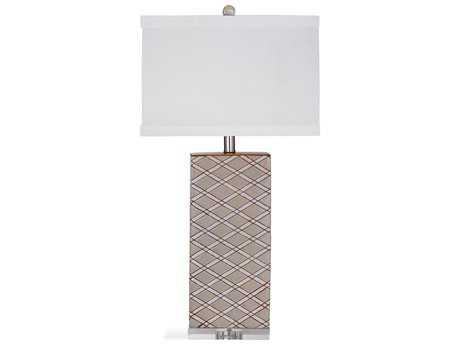 Bassett Mirror Old World Beige Keene Table Lamp
