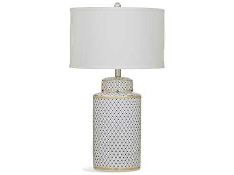 Bassett Mirror Old World Madeline Blue and White Table Lamp