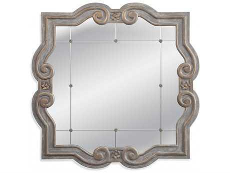 Bassett Mirror Belgian Luxe 48 x 48 Patterson Wall Mirror