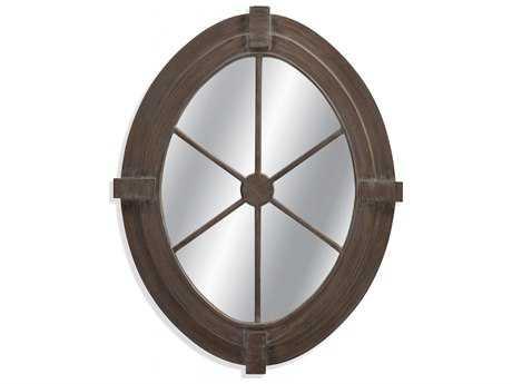Bassett Mirror Pan Pacific 34 x 43 Folly Wall Mirror