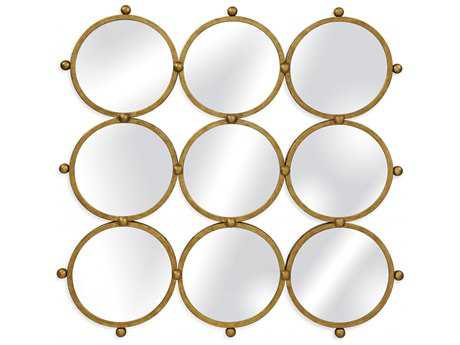 Bassett Mirror Thoroughly Modern 52 x 52 Ellis Wall Mirror