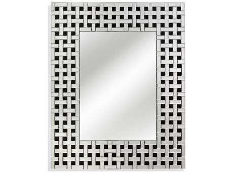 Bassett Mirror Thoroughly Modern 32 x 40 Elayne Wall Mirror
