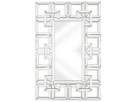 Bassett Mirror Thoroughly Modern Shelton 28'' x 43'' Clear Wall Mirror