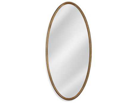 Bassett Mirror Old World Rebecca 28'' x 60'' Antique Gold Wall Mirror