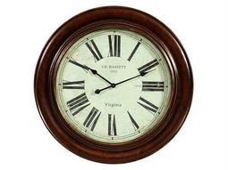 Bassett Mirror Old World Antique Bronze Brinkley Wall Clock