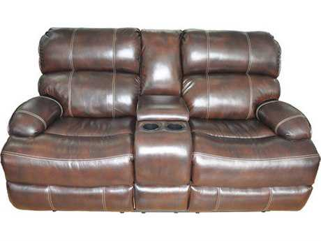 Barcalounger Casual Comforts Barclay Power Loveseat With Concole