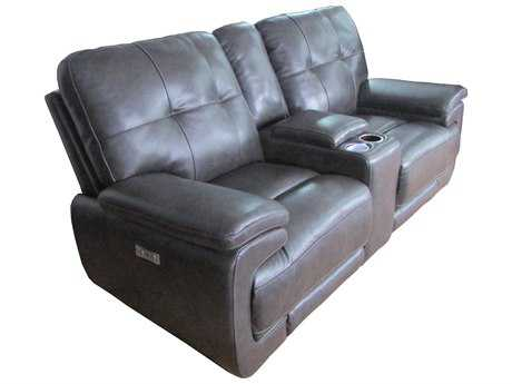 Barcalounger Casual Comfort Viktor Power Loveseat w/Console