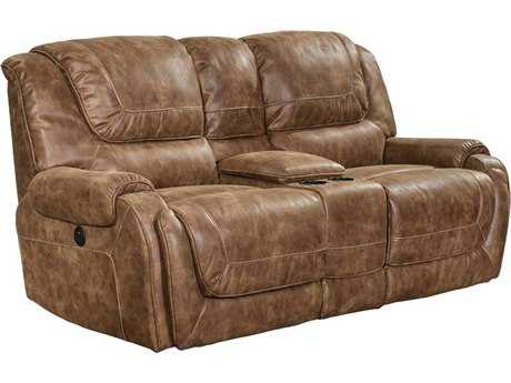 Barcalounger Casual Comforts Vincent Power Loveseat With Console