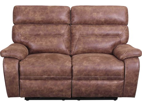 Barcalounger Casual Comfort Kinsley Ford Chestnut Power Reclining Loveseat