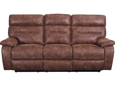 Barcalounger Casual Comfort Kinsley Ford Chestnut Power Reclining Sofa