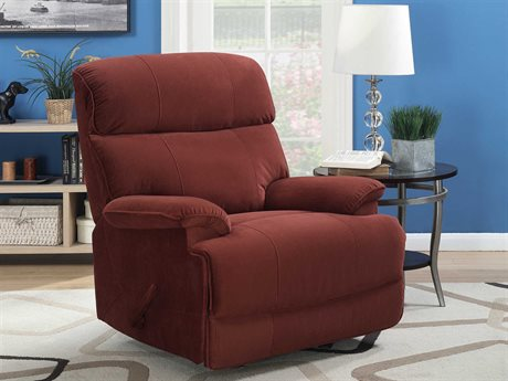 Barcalounger Basics Patterson Empire Cinnabar Rocker Recliner Chair