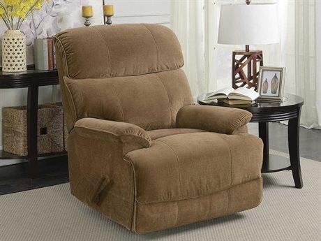 Barcalounger Basics Patterson Empire Toffee Rocker Recliner Chair