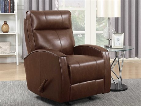 Barcalounger Basics Maxwell Blanche Brown Rocker Recliner Chair