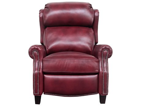 Barcalounger Vintage Meade Wenlock Carmine Recliner Chair