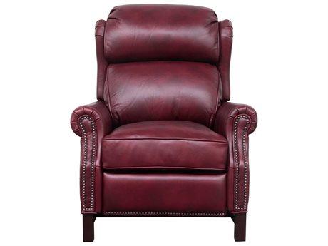 Barcalounger Vintage Thornfield Wenlock Carmine Recliner Chair