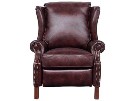 Barcalounger Vintage Woodland Wenlock Fudge Recliner Chair