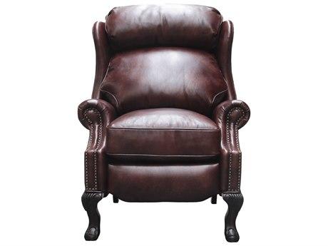 Barcalounger Vintage Danbury Wenlock Fudge Recliner Chair