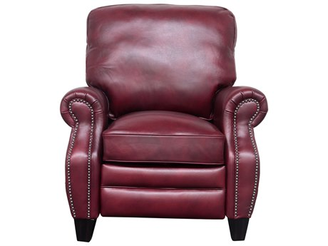 Barcalounger Vintage Briarwood Wenlock Carmine Recliner Chair