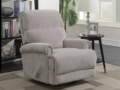 Barcalounger Basics Roslyn Pumice Swivel Glider Recliner Chair