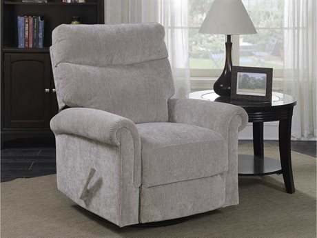 Barcalounger Basics Toni Pumice Swivel Glider Recliner Chair