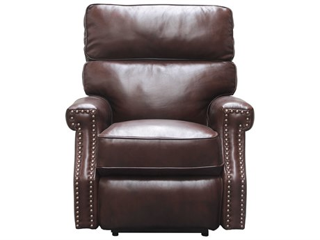 Barcalounger Vintage Lochmere Shoreham Chocolate Power Recliner Chair