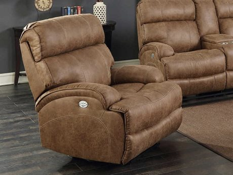 Barcalounger Casual Comfort Barclay Hughes Brown Power Recliner Chair